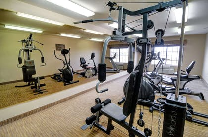 Exercise room with cardio equipment | Comfort Inn And Suites Amarillo