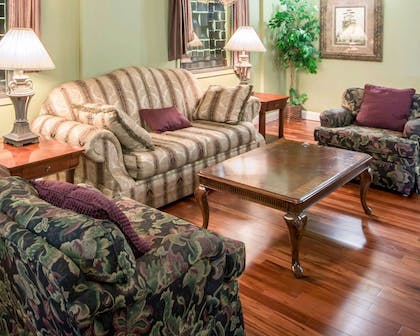 Lobby with sitting area   Comfort Inn Mansfield