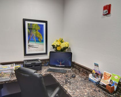 Business center with high-speed Internet access | Comfort Inn & Suites Beachfront