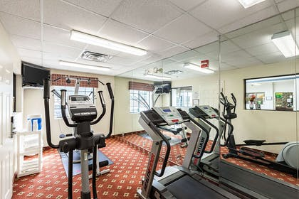 Fitness center | Quality Inn near SeaWorld - Lackland