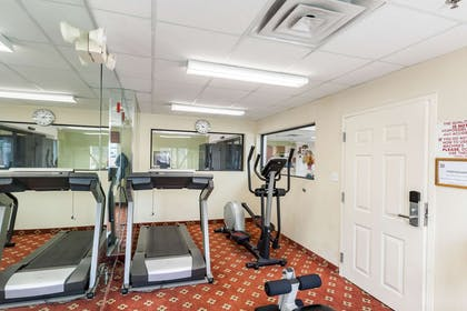 Fitness center with cardio equipment | Quality Inn near SeaWorld - Lackland