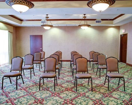 Meeting room with theater-style setup | Comfort Suites University Drive