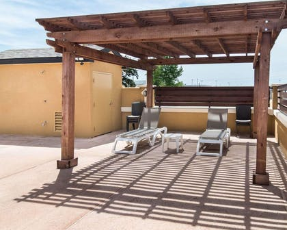 Relax on the sundeck | Comfort Suites Odessa
