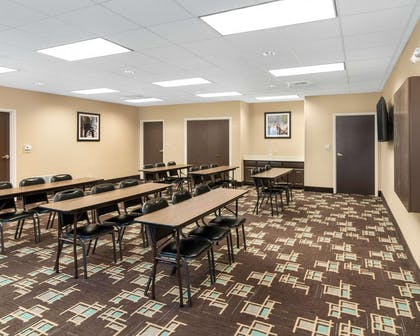 Large space perfect for corporate functions or training | Comfort Suites Odessa