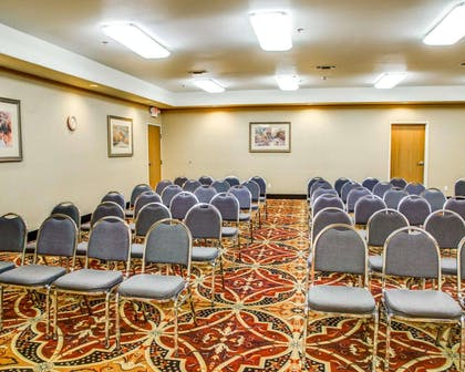 Meeting room with theater-style setup | Comfort Suites Tyler South