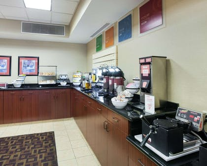 Free breakfast with waffles | Comfort Inn And Suites Airport