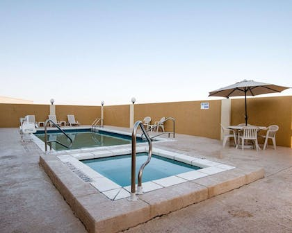 Relax in the hot tub | Comfort Suites San Angelo near University