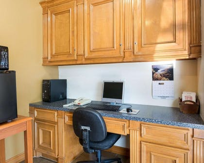 Business center with free wireless Internet access   Rodeway Inn & Suites Humble, TX
