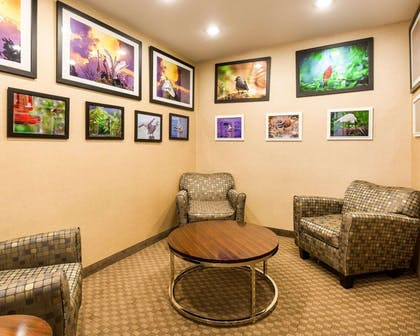 Lobby with sitting area | Comfort Inn And Suites Winnie