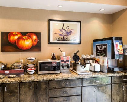 Free breakfast with waffles | Comfort Inn And Suites Winnie