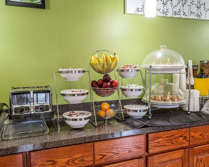 Assorted breakfast items | Econo Lodge Inn & Suites Beaumont