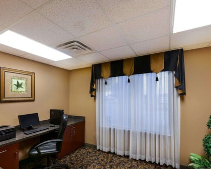 Business center with high-speed Internet access | Comfort Suites University
