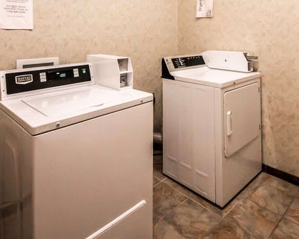 Guest laundry facilities | Sleep Inn And Suites Shamrock