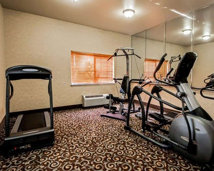 Exercise room | Sleep Inn And Suites Shamrock