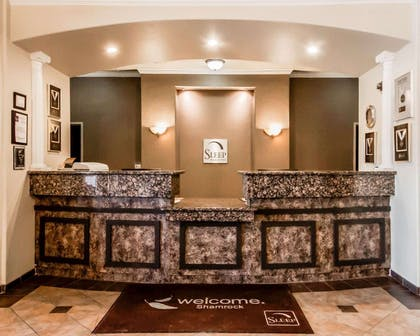 Front desk | Sleep Inn And Suites Shamrock