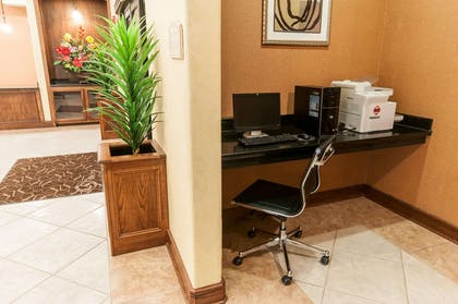 Business center with high-speed Internet access   Comfort Suites Hobby Airport