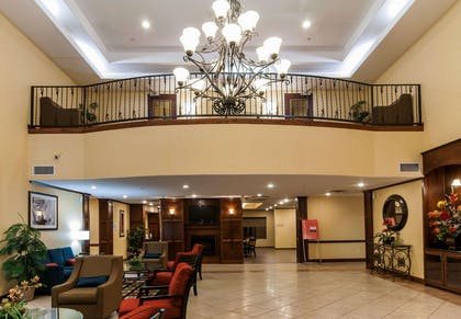 Hotel lobby   Comfort Suites Hobby Airport