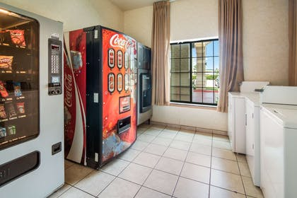 Vending and Laundry area | Clarion Inn & Suites Weatherford South