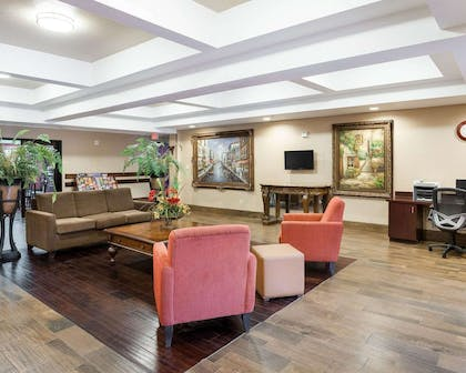 Hotel lobby | Comfort Inn and Suites Near Medical Center
