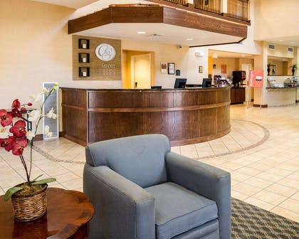 Hotel lobby   Comfort Suites Nacogdoches
