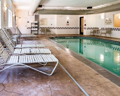 Relax by the pool   Comfort Suites Nacogdoches