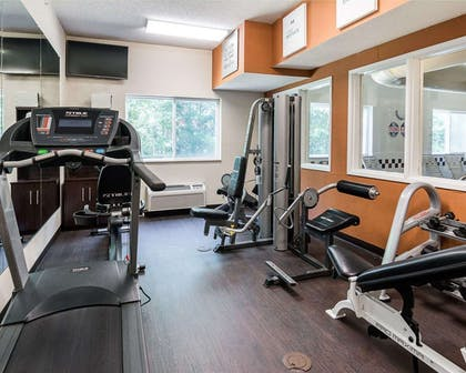 Exercise room   Comfort Suites Nacogdoches