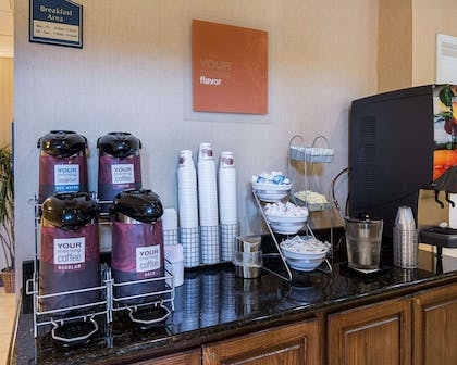 Free coffee   Comfort Suites Nacogdoches