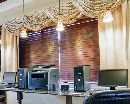 Business center with free wireless Internet access | Comfort Suites Fort Stockton