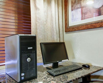 Business center with high-speed Internet access   Comfort Suites Fort Stockton