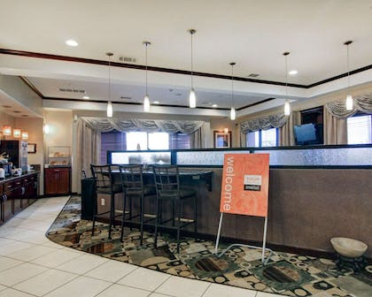 Breakfast area in the lobby | Comfort Suites Fort Stockton