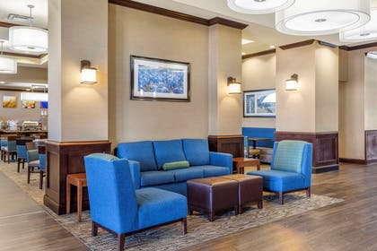 Lobby with sitting area | Comfort Suites Frisco