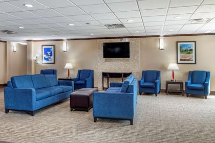 Lobby with sitting area   Comfort Suites Plano East - Richardson