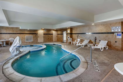Relax by the pool   Comfort Suites Plano East - Richardson