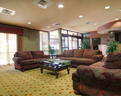 Spacious lobby with sitting area | Comfort Suites El Paso West