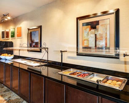 Hot and cold breakfast buffet | Comfort Suites Arlington - Entertainment District