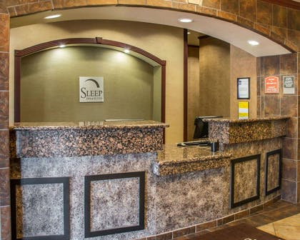 Front desk | Sleep Inn & Suites at Six Flags