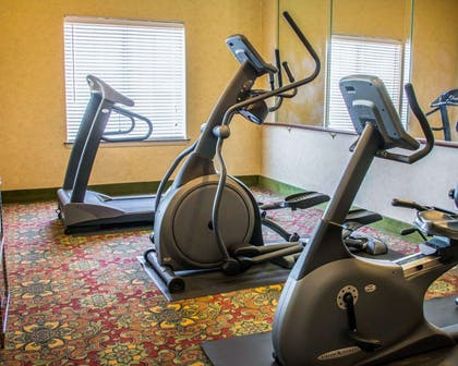 Fitness center with cardio equipment | Sleep Inn & Suites at Six Flags