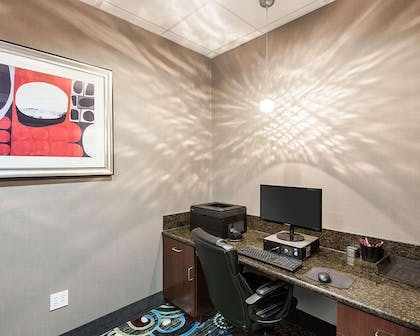 Business center with high-speed Internet access   Comfort Suites Greenville
