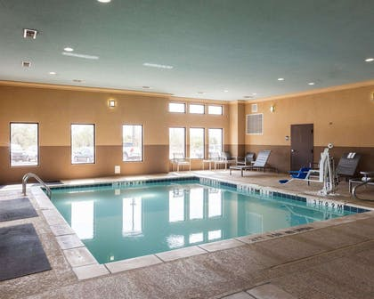 Indoor pool | Comfort Suites Greenville