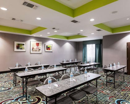Large space perfect for corporate functions or training   Comfort Suites Greenville