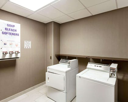 Guest laundry facilities | Comfort Suites Greenville