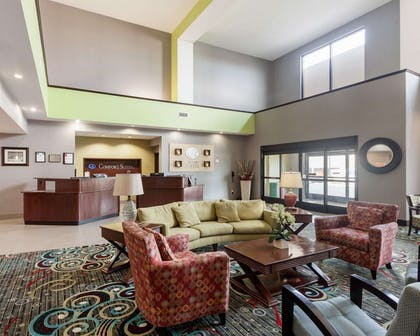 Lobby with sitting area   Comfort Suites Greenville