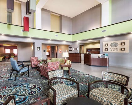 Spacious lobby | Comfort Suites Greenville