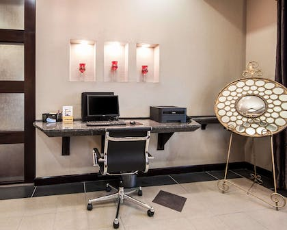 Business center with free wireless Internet access | Comfort Suites Pecos