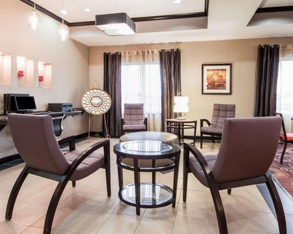 Business center with high-speed Internet access | Comfort Suites Pecos