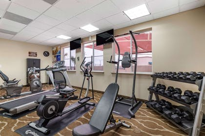 Fitness center | Comfort Inn & Suites Lakeside