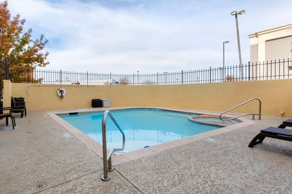Relax by the pool | Comfort Suites West Dallas - Cockrell Hill