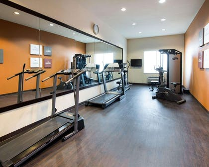 Exercise room with cardio equipment | Comfort Suites Waxahachie - Dallas