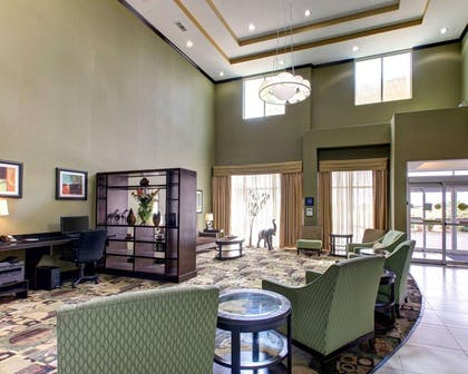 Spacious lobby | Comfort Suites Waxahachie - Dallas