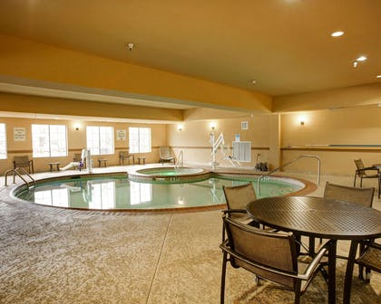 Beautiful indoor pool with hot tub | Comfort Suites Buda - Austin South